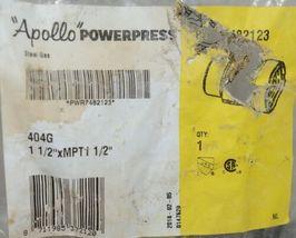 Apollo Powerpress Carbon Steel Gas Male Thread Adapter PWR7482123 image 3