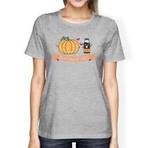 Pumpkin Spice Relationship Goals Womens Grey Shirt - $14.99+