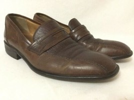 Bostonian Brown Leather Slip On Penny Loafer Casual Shoes Men's 9m - $39.60