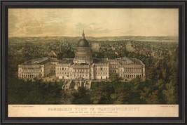 Artwork Early View of Washington City BCBL New SC-771 FREE - $879.00