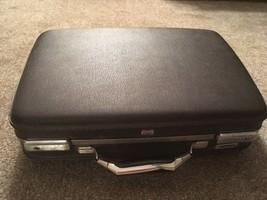 "Vintage American Tourister Brown 5"" Hardshell Briefcase - $33.99"