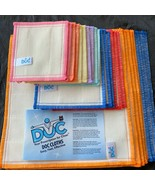 Large Lot of 26 DOC Wood Fiber Cleaning Anti Bacteria Cloths Rags Variety Pack  - $59.35