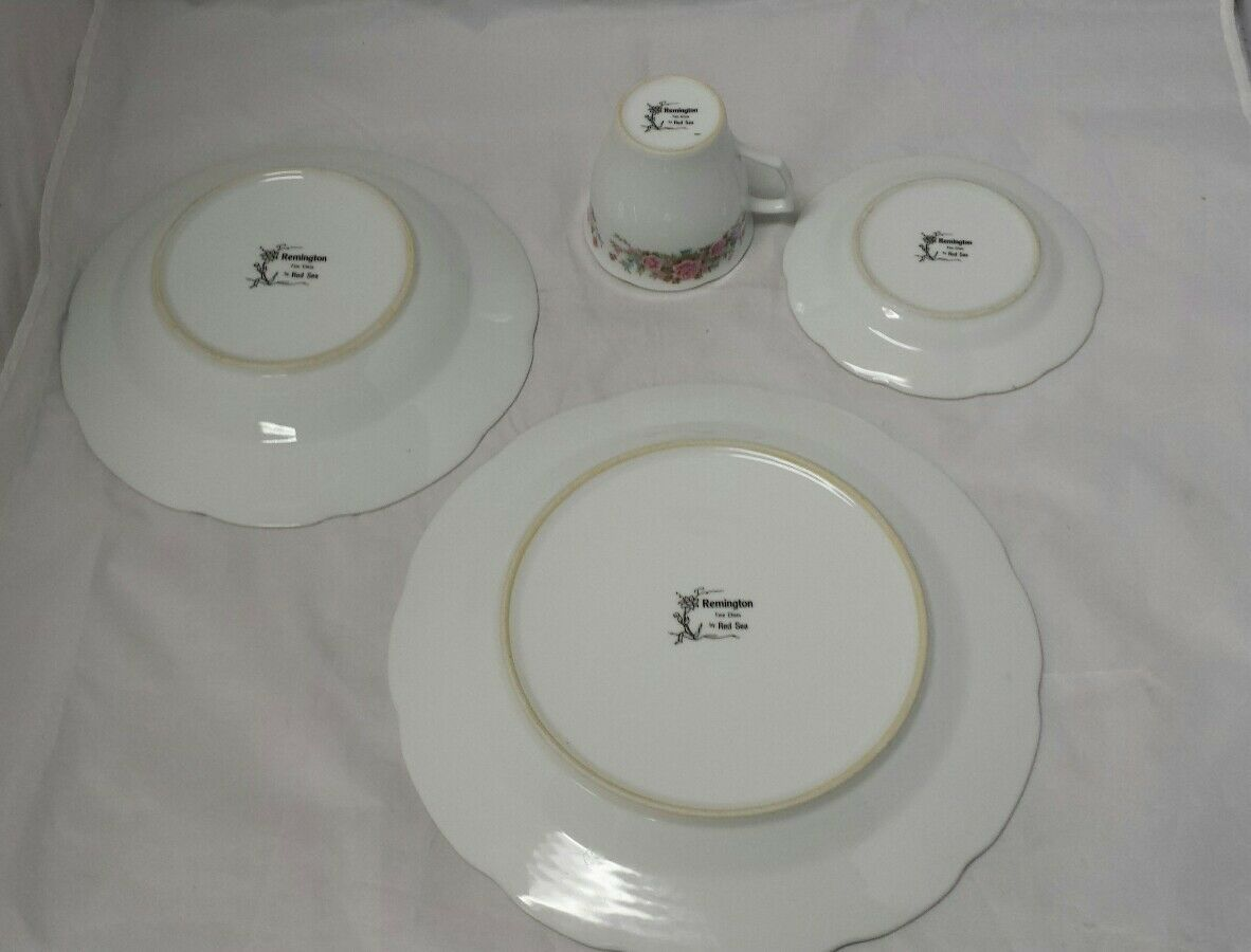 Remington Fine China: Spring Garden by Red Sea, Plate, Soup Bowl, Tea Cup Saucer image 8