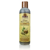 Okay African Soap Liquid, Black, 8 Ounce - $11.88
