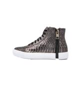 Diesel Women's Zip-Round S-Nentish W Fashion Sneaker Gunmetal Size 5  - $140.24