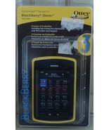 Otter Defender Series Protective Case - For Blackberry Storm 9500 - Blac... - $12.86