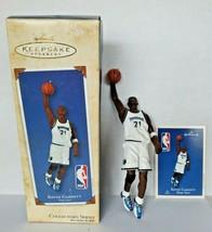 2002 Hallmark Kevin Garnett Hoop Stars Minnesota Timberwolves Ornament N... - $12.99