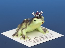 Birthstone Frog Prince Kissing February Amethyst Miniatures by Hagen-Renaker image 2
