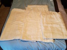 Vintage Harmony House 55% Cotton 45% Acetate Light Yellow Fabric - $197.95