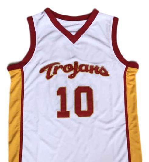 Demar derozan  10 college basketball jersey white   1