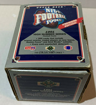 Upper Deck 91 Premiere Edition NFL Football High Number Series 200 Card ... - $9.89
