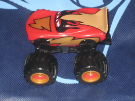 Disney Pixar Cars Toons Frightening McQueen Monster Truck. Loose. New. - $14.84