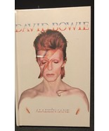 """New Sealed David Bowie Aladdin Sane 100 Page 4""""x 5.5"""" Cassette looking N... - $6.92"""