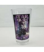 Star Wars Storm Trooper Drinking Glass 2014 Lucas Films Purple Pint Coll... - $10.94