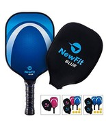 NewFit Blur Pickleball Paddle | USAPA Approved | Graphite Face & Polymer - $68.90