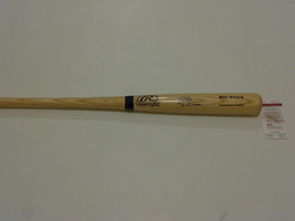 DAVID JUSTICE signed Rawlings big stick bat 2X WS Champs JSA Witness #WP... - $93.14