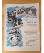 ROYAL CANADIAN AIR FORCE - Vintage Ad - Canada Recruiting Women RCAF 1953 - $10.69