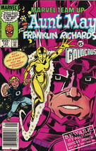 Marvel Team-Up Comic Book #137 Aunt May & Franklin Richards Vs Galactus ... - $3.99