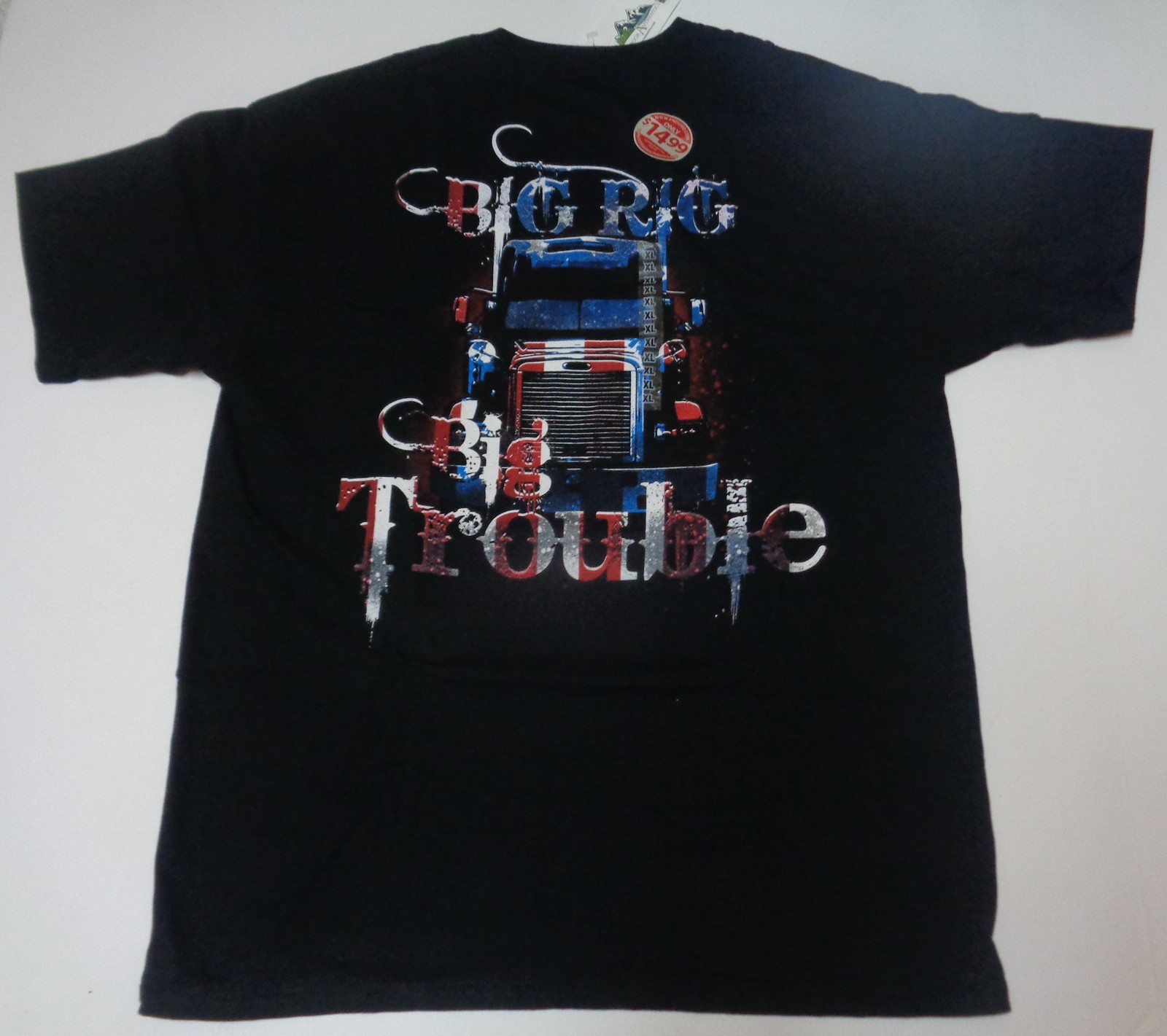 BIG RIG BIG TROUBLE TRUCKING T-shirt NWT Sz L, XL, 2XL