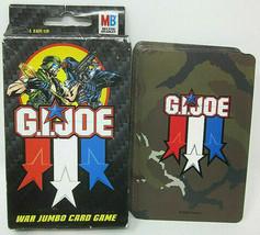 2002 Hasbro G.I. Joe WAR Jumbo Card Game 36 Card Deck Duke Cobra Command... - $4.29