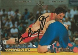 Bruce Baumgartner 1996 Upper Deck Autograph RC #60 - $18.58
