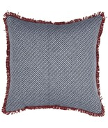 "Americana Primitive 18""  Pillow Patriotic Red White Blue Farmhouse Count... - $27.65"