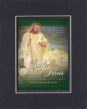 Safe in the arms of Jesus . . . 8 x 10 Inches Biblical/Religious Verses set in D - $11.14