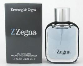 Z ZEGNA by Ermenegildo Zegna Eau de Toilette EDT Cologne Men Scent SeXy 1.7oz NW - $34.50