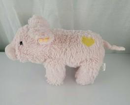 Manhattan Toy Valentine Voyager Pink Pig Yellow Heart Plush Stuffed Anim... - $39.59