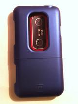 Platinum Blue Protective Case For Htc Evo 3D Smartphone HDC11SC - $1.98