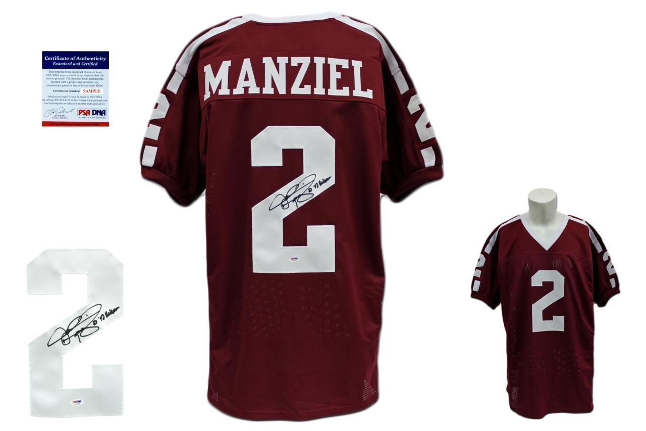 937621f6315 Johnny Manziel SIGNED Jersey - PSA DNA - and 50 similar items. S l1600