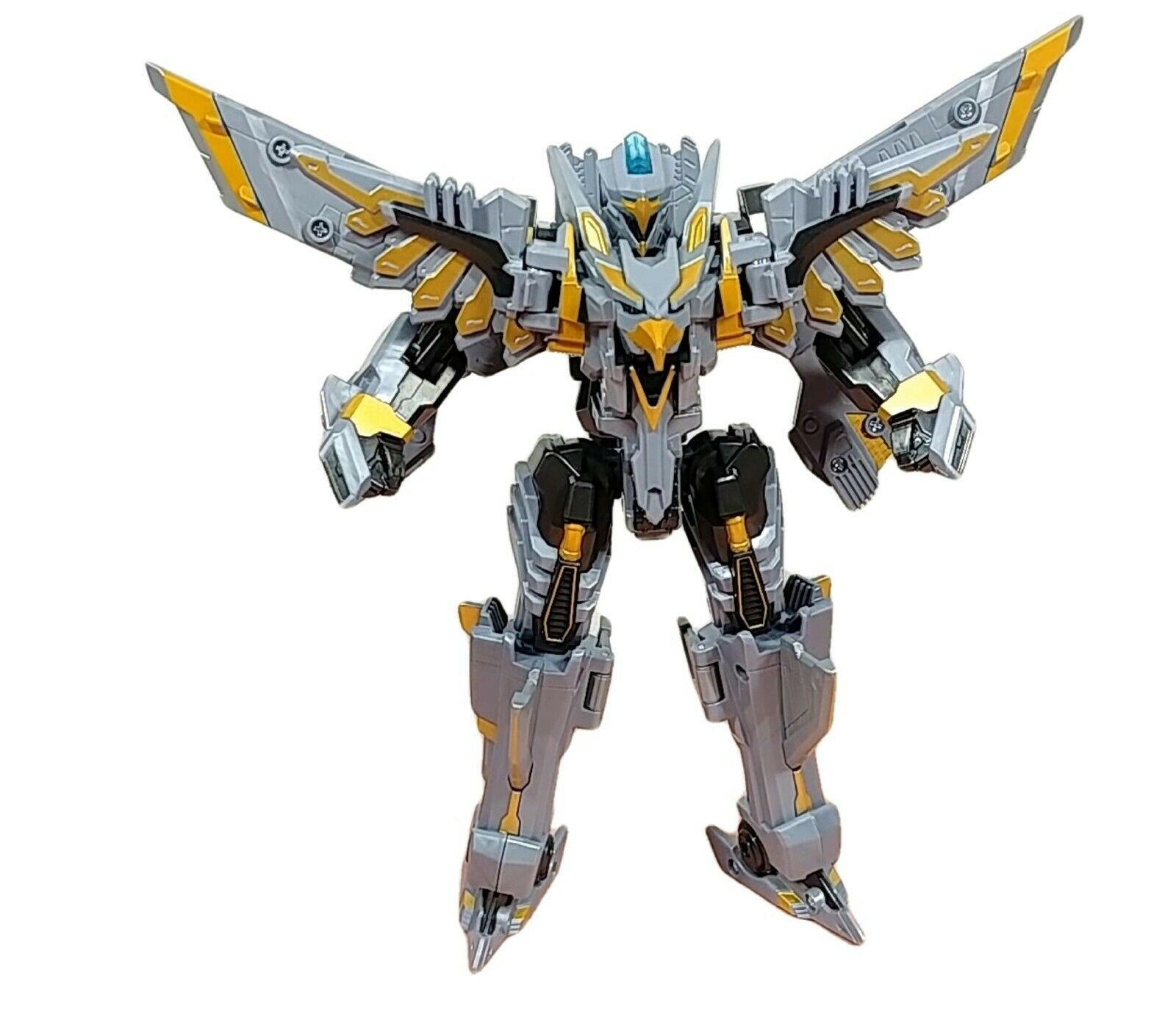 Tobot Silver Hawk Action Figure Toy Robot