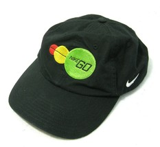 NIKE Mens Black Baseball Cap Hat (Adult Strapback) 100% Cotton, Athletic... - $12.95