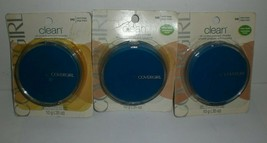 Covergirl Clean Pressed Powder #545 Warm Beige Oil Control Compact Lot of 3 WORN - $17.75