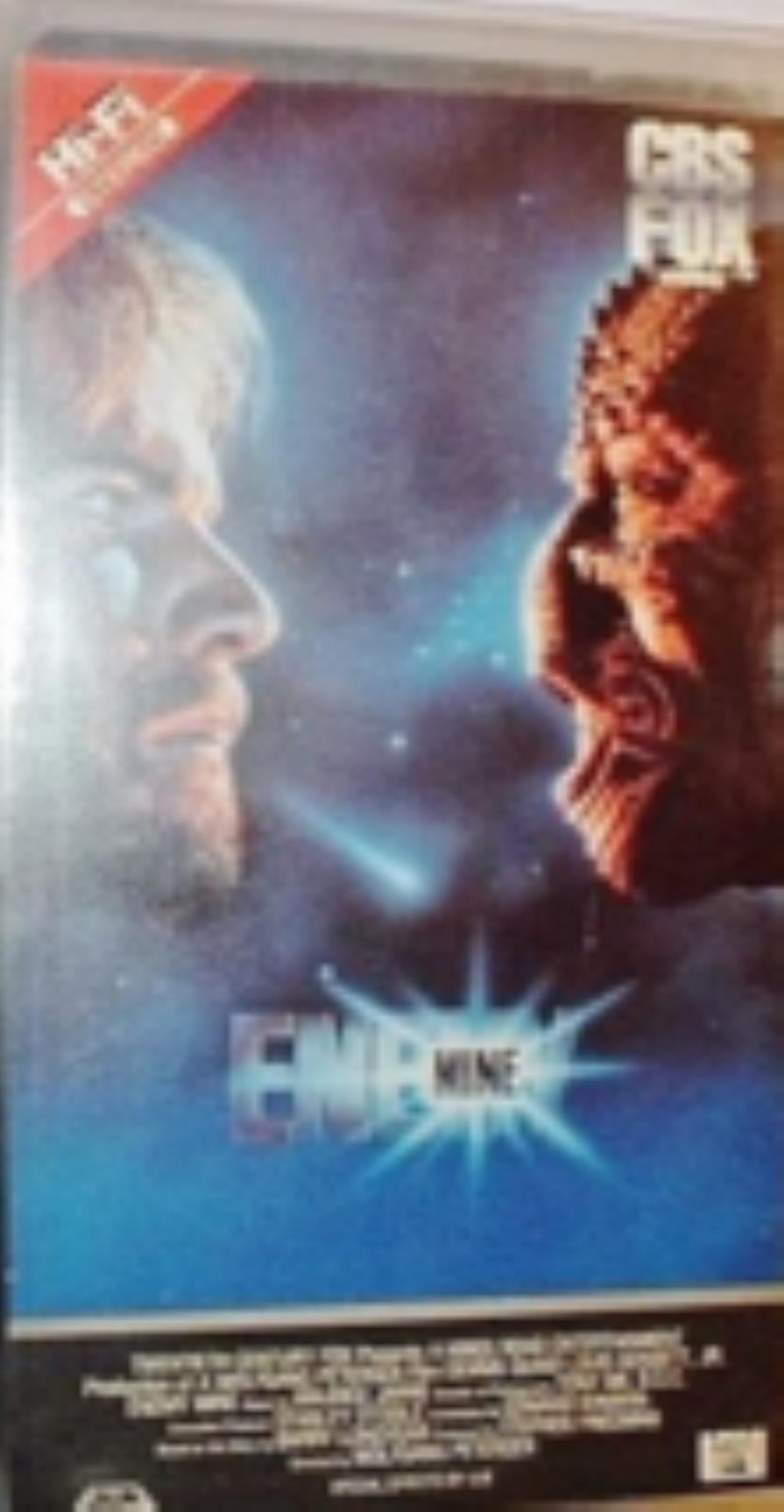 Enemy Mine Vhs