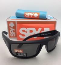 Polarized SPY OPTIC Sunglasses BOUNTY Matte Black Frame w/ANSI Z87.1 Grey Lenses