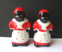 Black Americana Aunt Jemima Salt and Pepper Shaker Set - Two Sets Available - $10.00