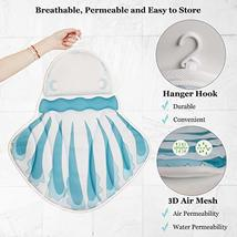 Jellyfish Shape Bath Pillow, Luxury Spa Bathtub Cushion with Upgraded Non-Slip S image 4