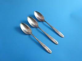 Grosvenor 3 Teaspoons Community Plate by Oneida (#931) - $12.75