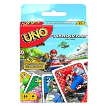 UNO Mario Kart Card Game with 112 Cards & Instructions for Players Ages ... - $5.87
