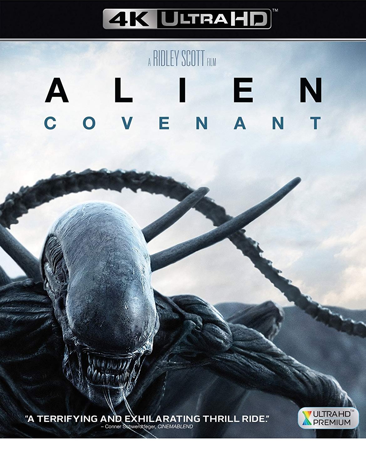 Alien: Covenant [4K Ultra HD + Blu-ray]