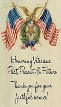 Honoring Veterans, Past, Present & Future - Magnet - $5.99