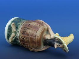 Twin Winton Hillbilly Figurine Skinny Clem Piggy Bank Made in Japan 1950s Scarce image 5