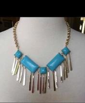Kendra Scott Leandra Gold Tone Leandra Statement Necklace  - $92.39