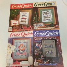 Cross Quick Magazine Lot of 4 Vintage Premier Issue - $11.28