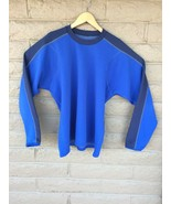 Vtg 90s Patagonia Mens Large Blue Long Sleeve Pullover 90s USA Made RN #... - $24.75