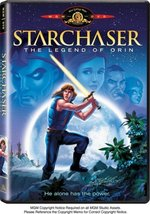 Starchaser - Legend of Orin DVD - $9.95