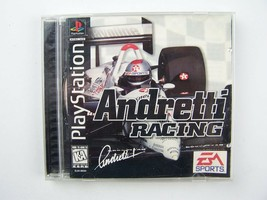 Andretti Racing: Playstation 1 Game - $8.78