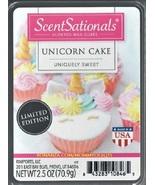 Unicorn Cake ScentSationals Scented Wax Cubes Tarts Melts Potpourri Decor - $3.75
