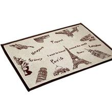 Bedroom Carpet Kitchen Bathroom Non-slip Cotton Door Mat (40 By 60cm) Th... - $22.19